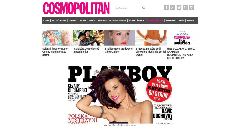 Karolina Pilarczyk w najnowszym Playboyu
