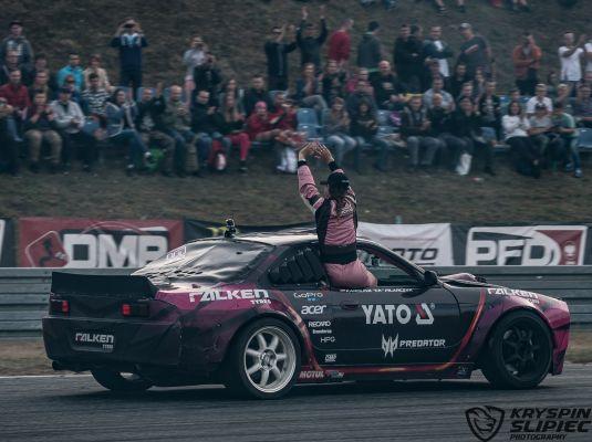 Driftingwe mistrzostwa Polski - Poznań 2016 - Karolina Pilarczyk