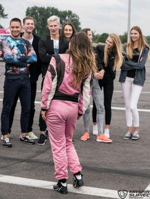 "Karolina ""CK"" Pilarczyk - Polish Drift Girl w Top Model 2016"