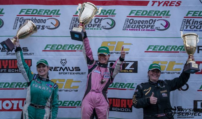 Karolina Pilarczyk - King of Europe 2016 - Slovakiaring