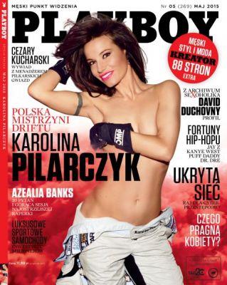Karolina Pilarczyk, Playboy (okładka), maj 2015