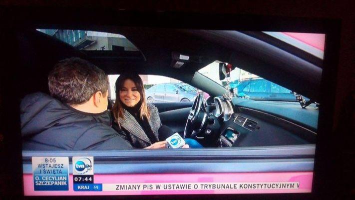 """Karolina Pilarczyk, program """"Wstajesz i wiesz"""", Telewizja TVN24"""