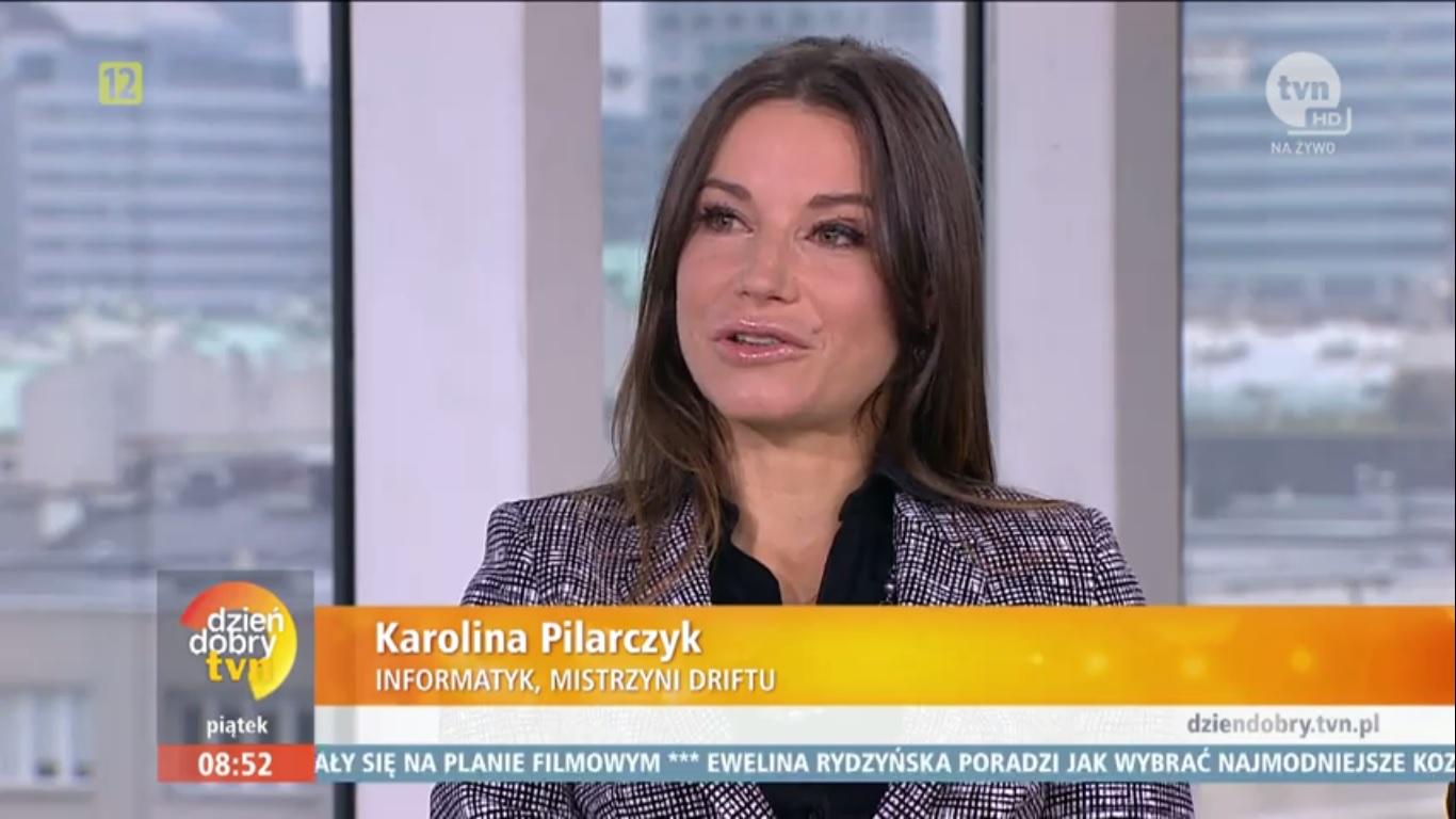 Karolina Pilarczyk w TVN - Dzień Dobry TVN 2016 - Dziewczyny, które programują i świetnie im to idzie