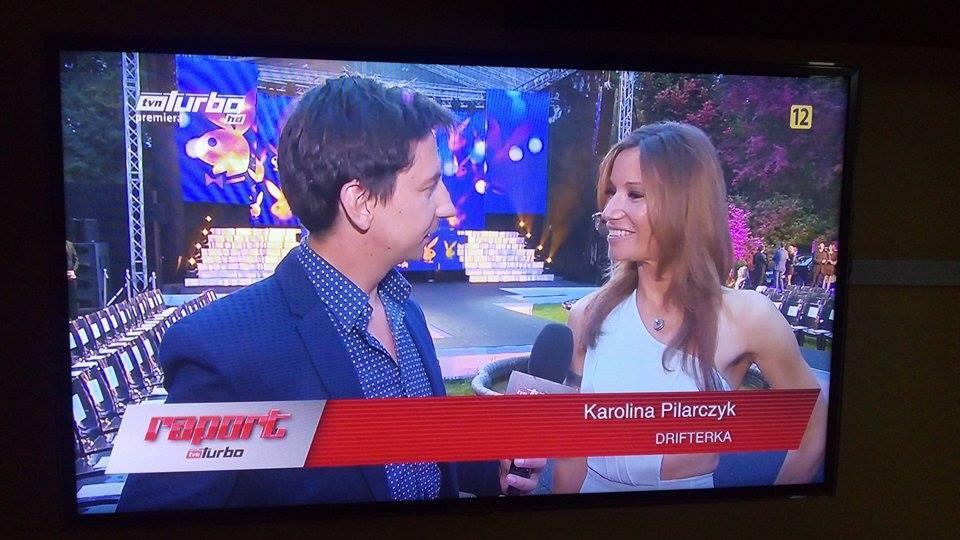 Karolina Pilarczyk, Raport Turbo, Telewizja TVN Turbo