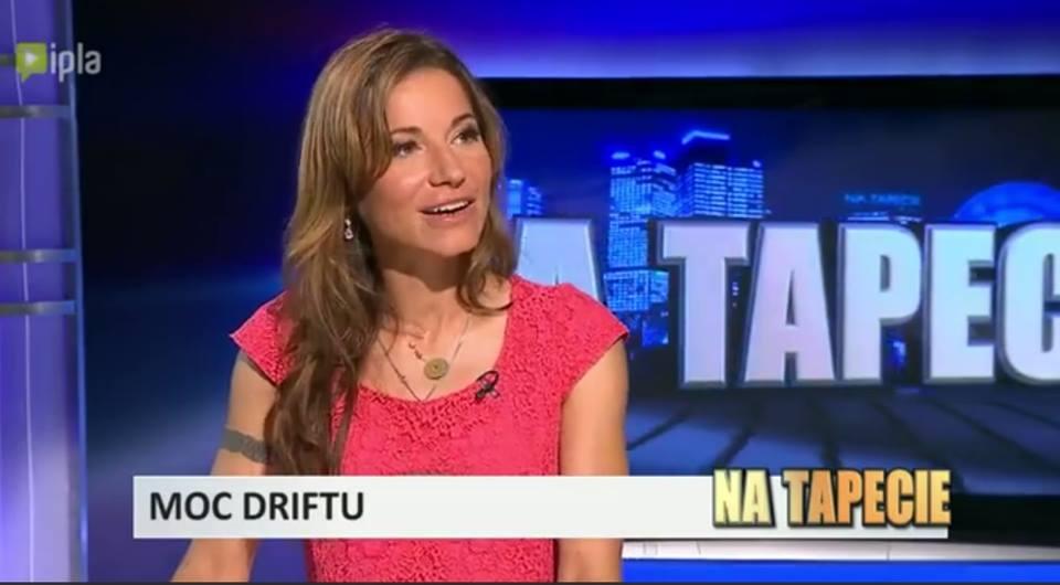 """Karolina Pilarczyk, program """"Na Tapecie"""", Telewizja Superstacja,"""