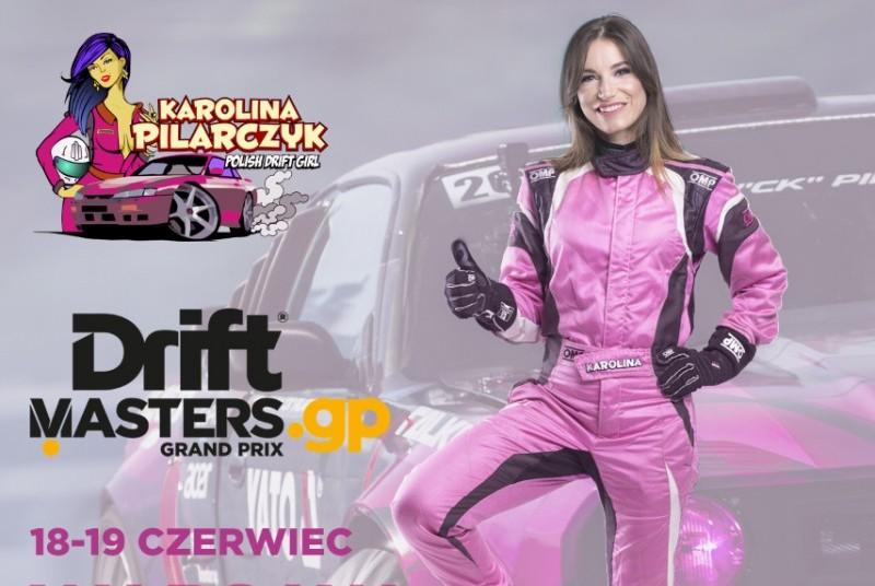 Karolina Pilarczyk w Drift Masters GP w Nadarzynie 2016