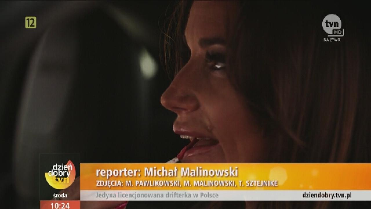 Karolina Pilarczyk w TVN - Dzień Dobry TVN 2016