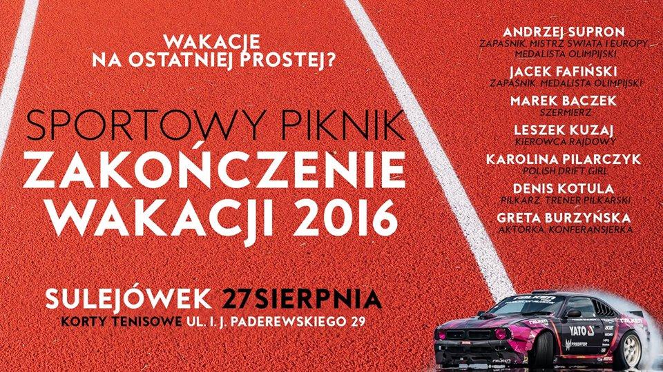 Zakończenie lata 2016 w Sulejówku